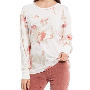 NWT We the Free Arielle Floral Print Long-Sleeve